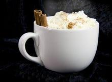 Cacao sul nero Fotografia Stock