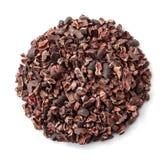 Cacaobonen Stock Foto's