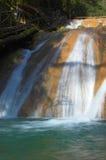 Cacascade de cascade à écriture ligne par ligne Images stock