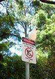 Cacatoès blanc se reposant sur a Photos libres de droits