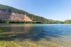 Caccamo jezioro w Włochy Obrazy Royalty Free
