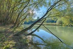 Caccamo jezioro w Włochy Zdjęcie Royalty Free