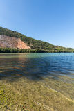 Caccamo lake in Italy Stock Photography
