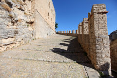 Caccamo, Sicily Royalty Free Stock Photo