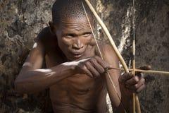 Caccia del boscimano di San Fotografie Stock Libere da Diritti