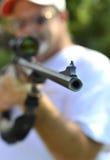 Caccia del fucile da caccia dell'arma Immagine Stock