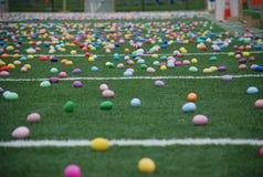 Caccia dell'uovo di Pasqua Fotografia Stock Libera da Diritti