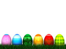 Caccia dell'uovo di Pasqua Immagine Stock