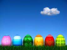 Caccia dell'uovo di Pasqua Fotografie Stock Libere da Diritti