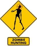 Caccia delle zombie Fotografie Stock