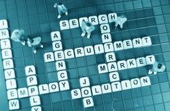 Caccia di job Fotografia Stock