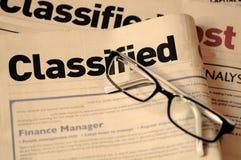 Caccia di job Immagine Stock
