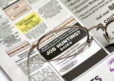 Caccia di job Immagini Stock Libere da Diritti