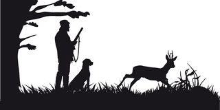 Caccia motore degli animali e di landscapes17 Fotografia Stock Libera da Diritti