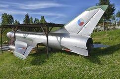 Cacciabombardiere pensionato di Sukhoi Su-7 Fotografie Stock Libere da Diritti