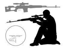 Cacciatore illustrazione di stock