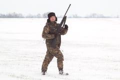 cacciatore Fotografia Stock Libera da Diritti