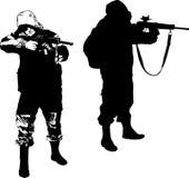cacciatore fotografie stock libere da diritti