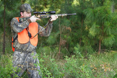 Cacciatore - caccia - sportivo Immagini Stock