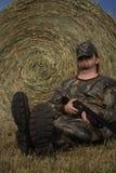 Cacciatore - caccia - sportivo fotografia stock