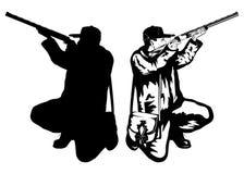 Cacciatore Immagini Stock Libere da Diritti