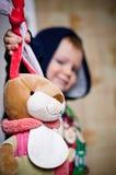 Cacciatore sulle lepri del giocattolo Immagini Stock Libere da Diritti
