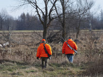Cacciatori dei cervi Immagini Stock Libere da Diritti