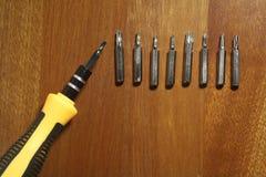 Cacciavite della Multiplo-testa Fotografie Stock Libere da Diritti