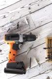 Cacciavite elettrico fotografia stock