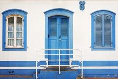 Cacela老房子 免版税图库摄影