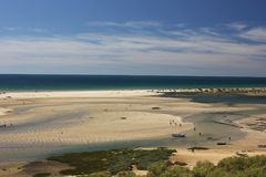 Cacela Velha, Algarve-Portugal arkivfoto
