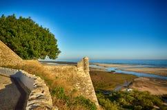 Cacela Velha, destination portugaise Photo stock