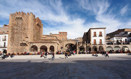 Caceres Royalty Free Stock Image