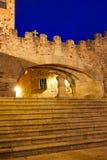 Caceres Arco de la Estrella arch in Spain Royalty Free Stock Image