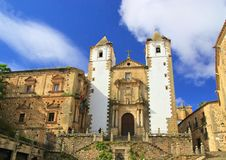 Caceres church San Francisco Javier Royalty Free Stock Photography