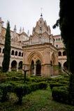caceres de guadalupe玛丽亚修道院圣诞老人西班牙 免版税图库摄影