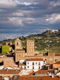 Caceres in Estremadura Spagna fotografie stock libere da diritti