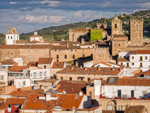 Caceres in Extremadura, Spain Royalty Free Stock Images