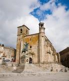 caceres mayor Spain kwadratowy Trujillo Zdjęcie Royalty Free