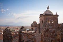 caceres moctezuma宫殿西班牙托莱多 免版税库存图片