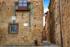 Caceres monumental city Extremadura Spain Royalty Free Stock Image