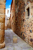 Caceres monumental city Extremadura Spain Royalty Free Stock Photo