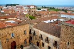 Caceres monumental city Extremadura Spain Stock Photo