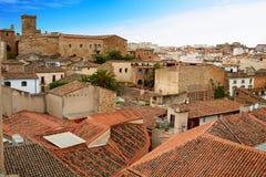 Caceres monumental city Extremadura Spain Stock Image