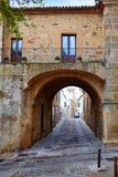 Caceres Puerta de Coria door Spain Extremadura Royalty Free Stock Photography