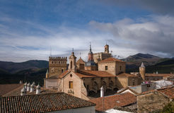 caceres santa μοναστηριών de guadalupe Μαρία Στοκ Φωτογραφίες