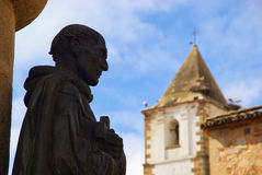 Caceres Statue Stock Photo