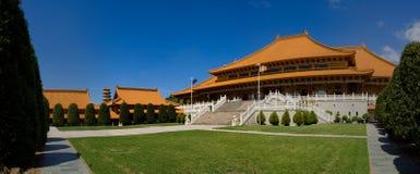 Cacerola 2 del templo de Nan Tien Fotos de archivo