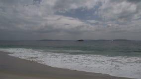 Cacerola de la playa en el parque nacional de Torndirrup en Albany, Australia occidental almacen de metraje de vídeo