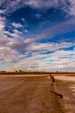 Cacerola de la sal Foto de archivo